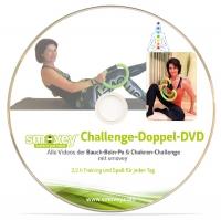 Bauch-Bein-Po & Chakren - Challenge, DOPPELDVD